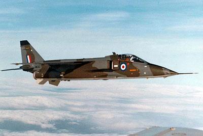 Thunder & Lightnings - SEPECAT Jaguar - History