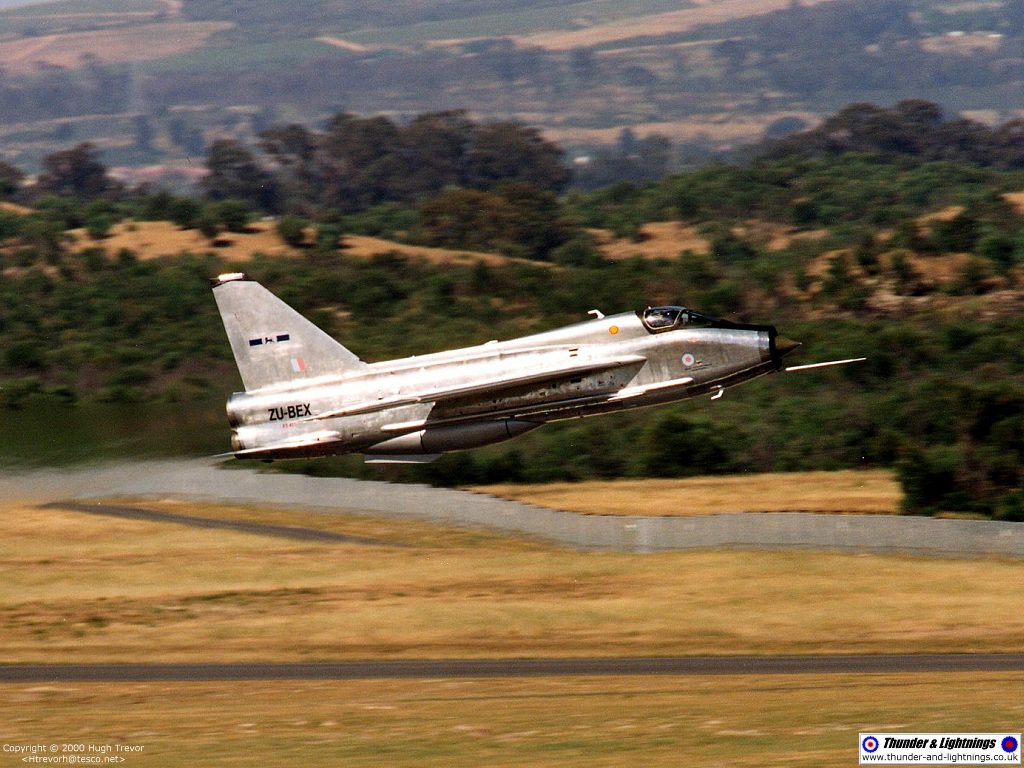 thunder lightnings english electric lightning photo gallery