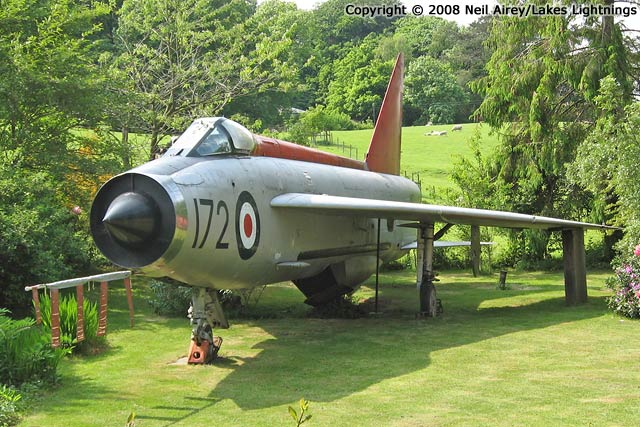thunder lightnings english electric lightning survivor xm172