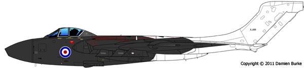 Author/dh >> Thunder & Lightnings - de Havilland Sea Vixen - Profile